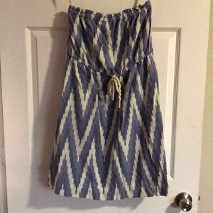 Gap Strapless Dress sz 2